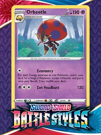 Pokémon TCG Triple Play: Orbeetle