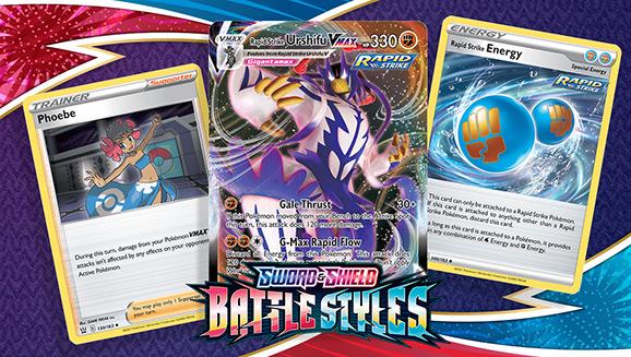 Rapid Strike Urshifu VMAX Is on the Advance