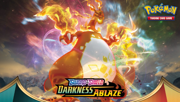 Sword & Shield—Darkness Ablaze Is Here