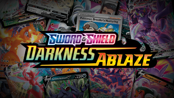 Browse the Cards of Sword & Shield—Darkness Ablaze!