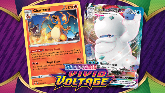 See Charizard and More in Sword & Shield—Vivid Voltage