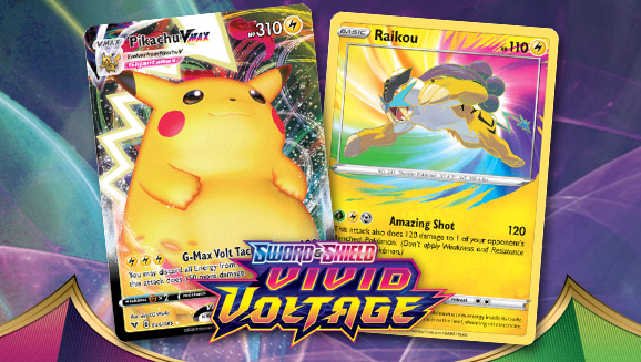 Check Out Featured Cards in the Pokémon TCG: Sword & Shield—Vivid Voltage Expansion