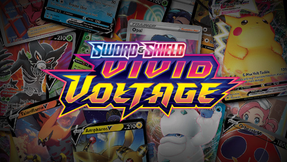 Browse the Cards of Sword & Shield—Vivid Voltage!