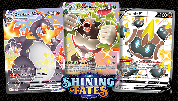 Check Out Pokémon TCG: Shining Fates Featured Cards
