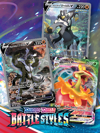 See Urshifu's Two Sword & Shield—Battle Styles Cards