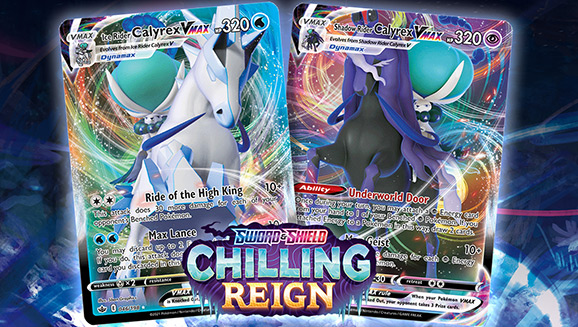 Freeze Your Opponents with Featured Cards from Pokémon TCG: Sword & Shield—Chilling Reign