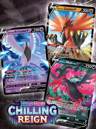 Legendary Pokémon Soar in Chilling Reign