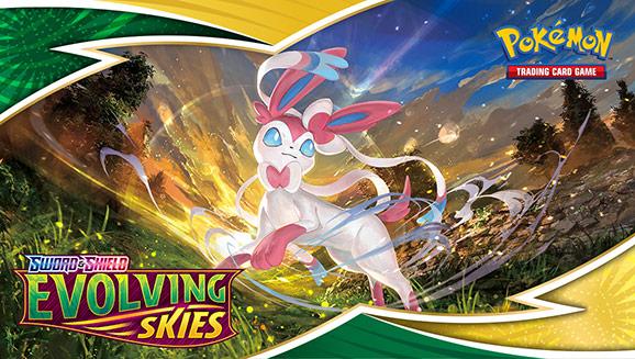 Soar into Pokémon TCG Action with Sword & Shield—Evolving Skies