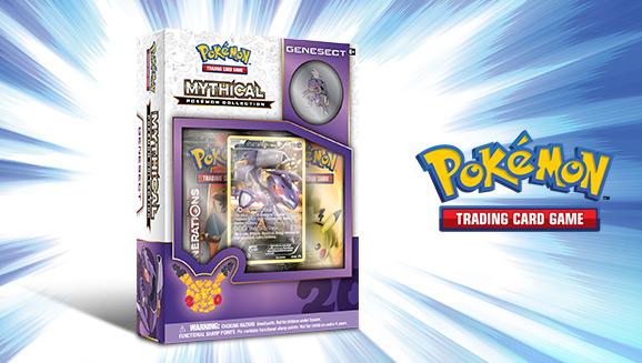 Pokémon TCG: Mythical Pokémon Collection—Genesect
