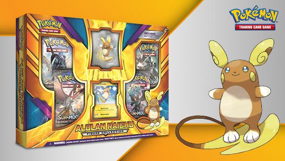 Pokémon TCG: Alolan Raichu Figure Collection