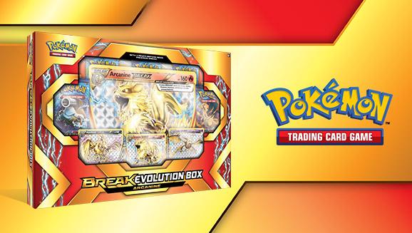 Pokémon TCG: BREAK Evolution Box Featuring Arcanine