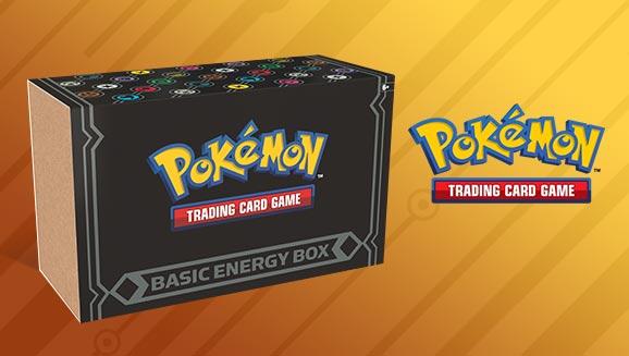 Pokémon TCG: Basic Energy Box