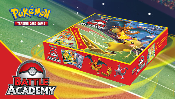 Join the Pokémon Trainers at the Battle Academy