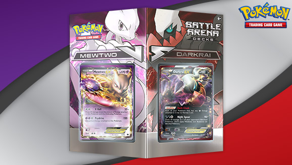 Pokémon TCG Battle Arena Decks: Mewtwo vs. Darkrai