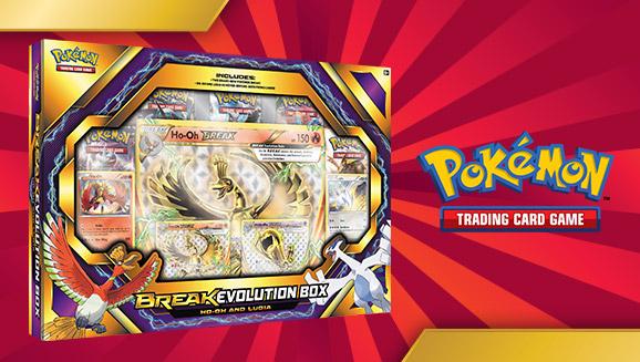 Pokémon TCG: BREAK Evolution Box Featuring Ho-Oh and Lugia