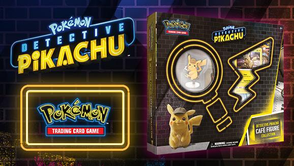 Pokémon TCG: <em>Detective Pikachu</em> Café Figure Collection