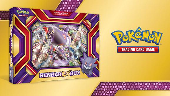 Pokémon TCG: Gengar-<em>EX</em> Box