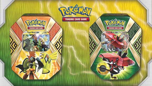 Pokémon TCG: Island Guardians Tin