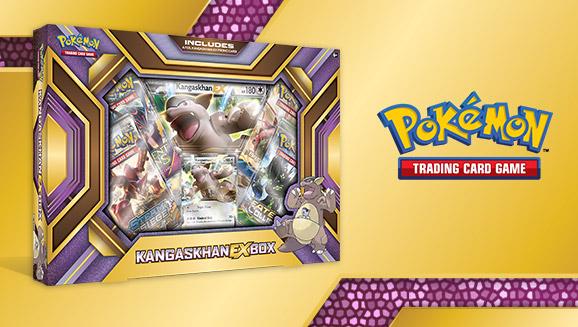 Pokémon TCG: Kangaskhan-<em>EX</em> Box