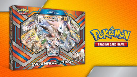 Pokémon TCG: Lycanroc-<em>GX</em> Box