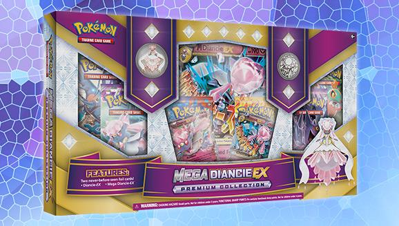 Pokémon TCG: Mega Diancie-<em>EX</em> Collection