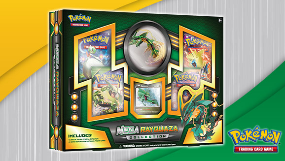Pokémon TCG: Mega Rayquaza Collection