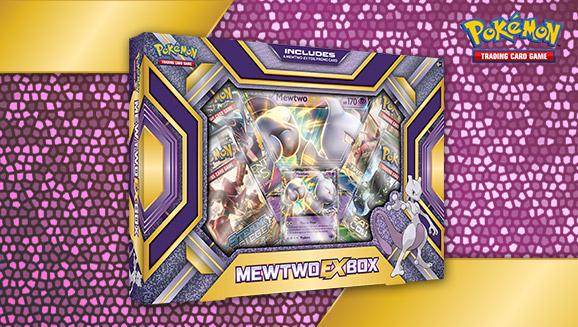 Pokémon TCG: Mewtwo-<em>EX</em> Box