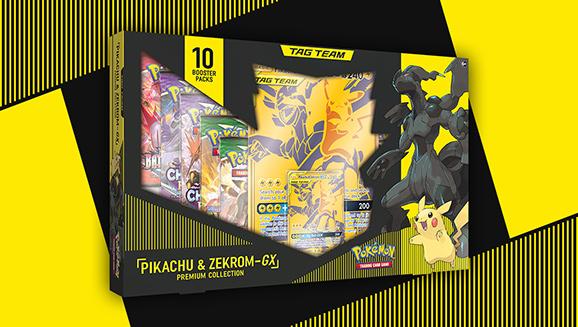 Pikachu & Zekrom-<em>GX</em> Premium Collection