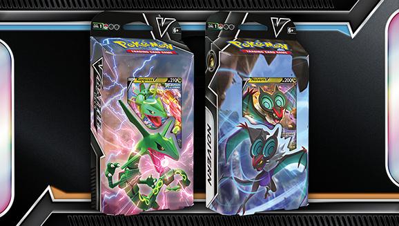 Rayquaza V Battle Deck and Noivern V Battle Deck