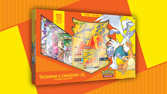 Reshiram & Charizard-<em>GX</em> Premium Collection
