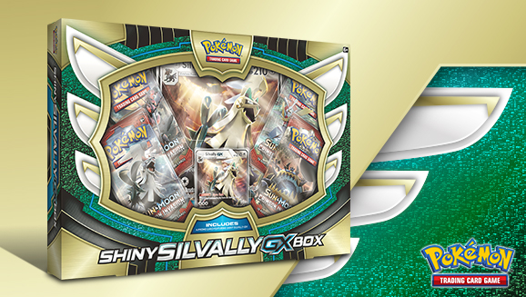 Pokémon TCG: Shiny Silvally-<em>GX</em> Box