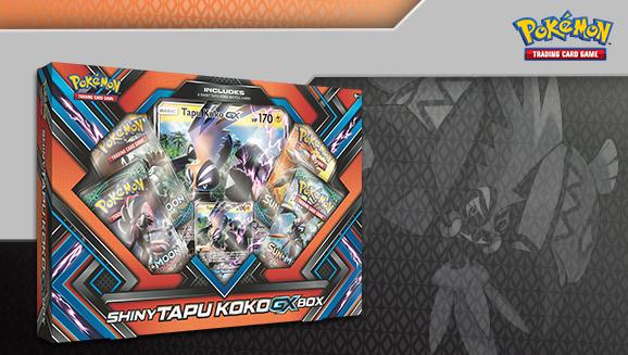 Pokémon TCG: Shiny Tapu Koko-<em>GX</em> Box