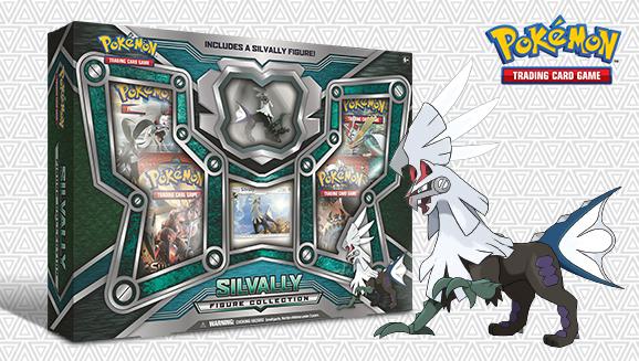 Pokémon TCG: Silvally Figure Collection