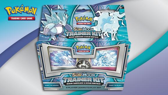 Pokémon TCG: <em>Sun & Moon</em> Trainer Kit—Alolan Sandslash & Alolan Ninetales