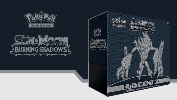 Pokémon TCG: <em>Sun & Moon—Burning Shadows</em> Elite Trainer Box