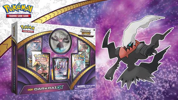Pokémon TCG: <em>Shining Legends</em> Figure Collection—Shiny Darkrai-<em>GX</em>