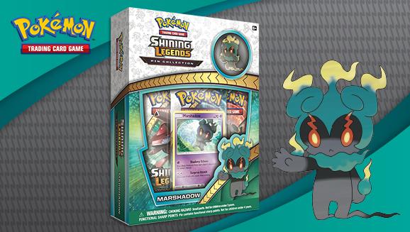 Pokémon TCG: <em>Shining Legends</em> Pin Collection—Marshadow
