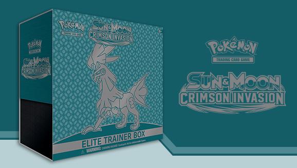 Pokémon TCG: <em>Sun & Moon—Crimson Invasion</em> Elite Trainer Box