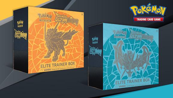 Pokémon TCG: <em>Sun & Moon—Ultra Prism</em> Elite Trainer Box