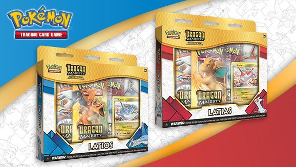 Pokémon TCG: <em>Dragon Majesty</em> Pin Collections—Latias and Latios