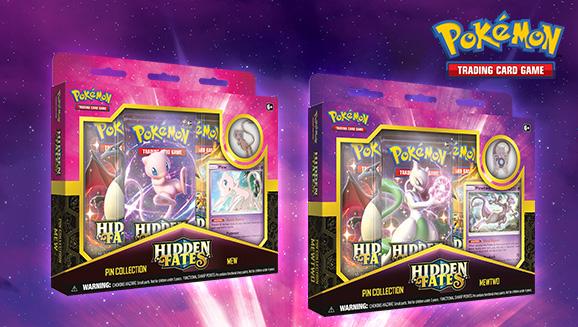 Pokémon TCG: <em>Hidden Fates</em> Pin Collection—Mewtwo/Mew