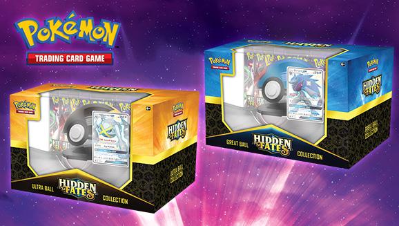 <em>Hidden Fates</em> Poké Ball Collection—Shiny Zoroark-<em>GX</em> / Shiny Metagross-<em>GX</em>