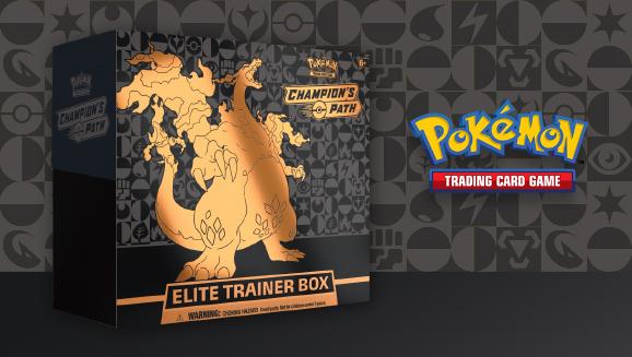 Become a Champion with Pokémon TCG: Champion's Path Elite Trainer Box