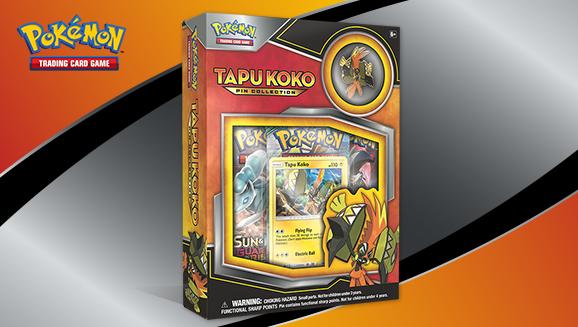 Pokémon TCG: Tapu Koko Pin Collection