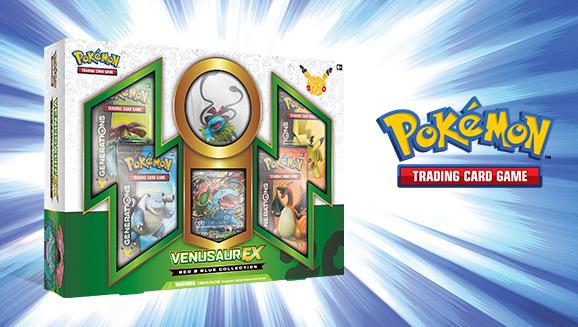 Pokémon TCG: Red & Blue Collection—Venusaur-<em>EX</em>