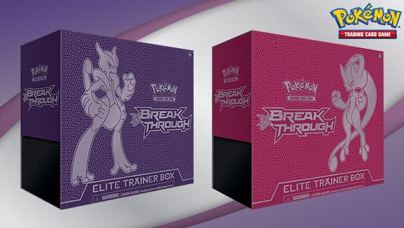 Pokémon TCG: XY—BREAKthrough Elite Trainer Box