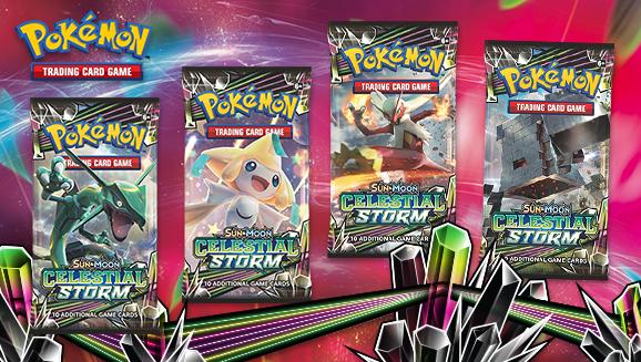 Pokémon TCG: <em>Sun & Moon—Celestial Storm</em>