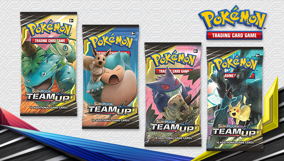 Pokémon TCG: <em>Sun & Moon—Team Up</em>