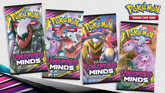 Pokémon TCG: <em>Sun & Moon—Unified Minds</em>