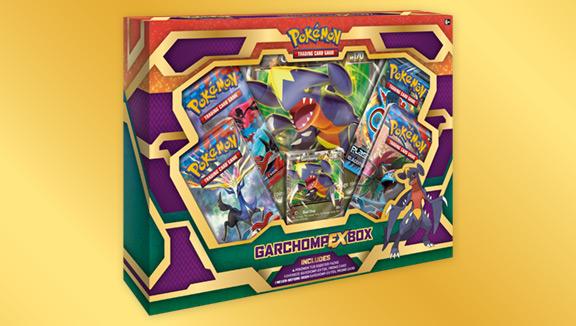 Pokémon TCG: Garchomp-<em>EX</em> Box